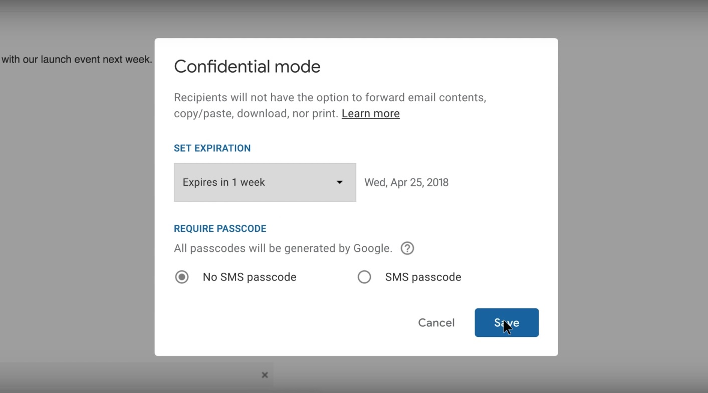 Google introduces new Gmail features