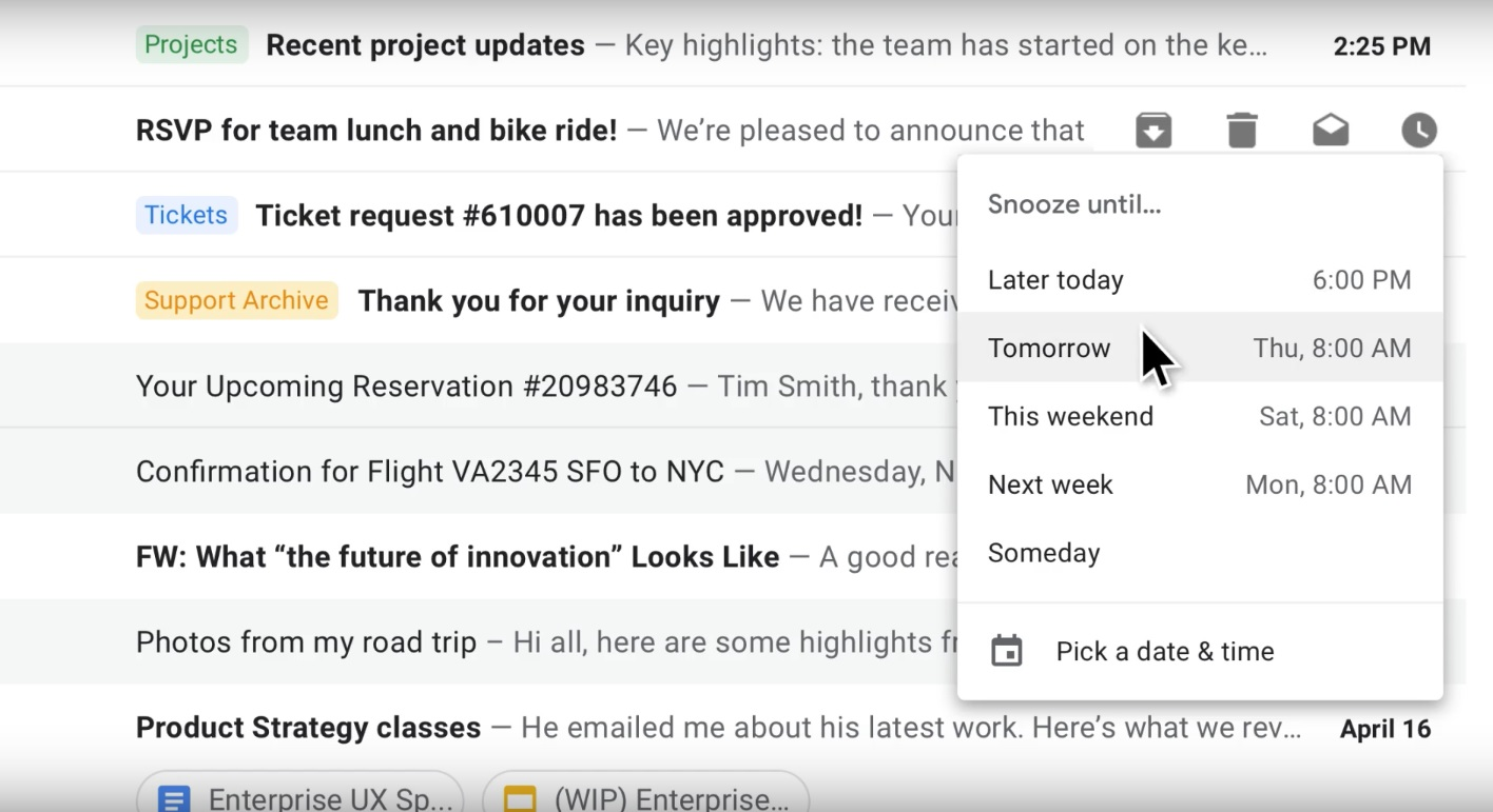 Gmail moves to new design