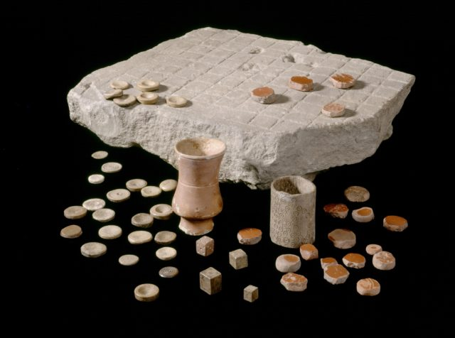 A Roman board game is going on display as part of a £1.8 million investment in heritage sites on the Wall (English Heritage/PA)