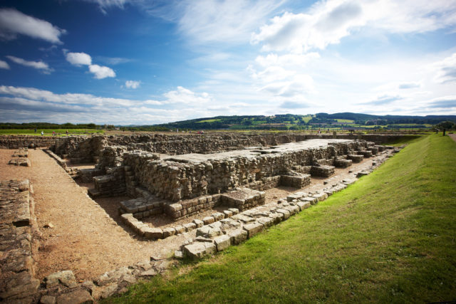 New exhibitions will go on display at Corbridge Roman Town, as well as nearby Birdoswald Roman Fort (English Heritage/PA)