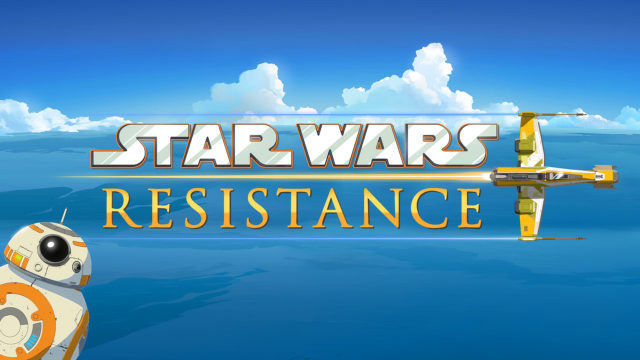 Disney and Lucasfilm announce new animated series Star Wars Resistance.