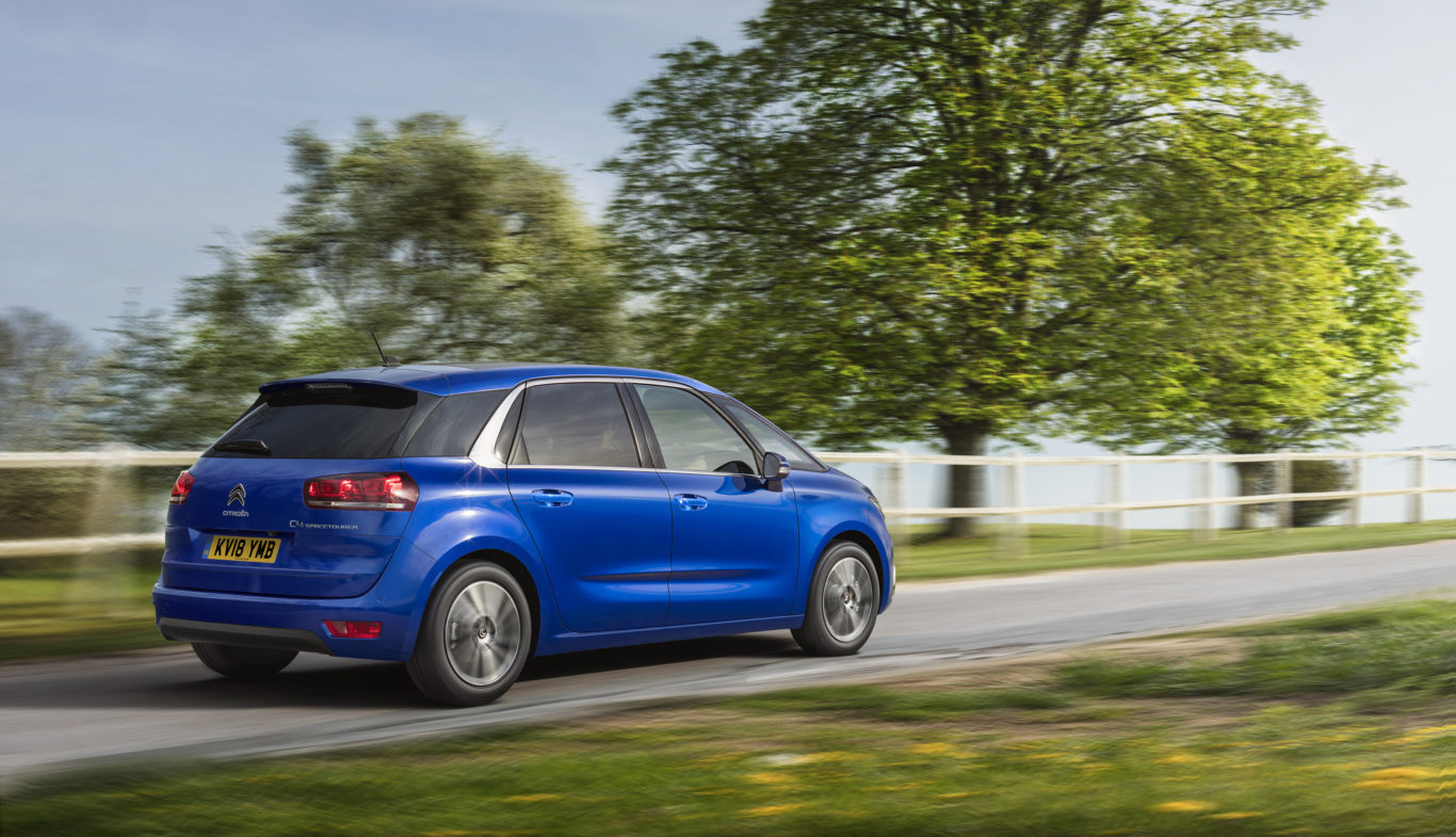 citroen drops picasso name from facelifted c4 mpv shropshire star. Black Bedroom Furniture Sets. Home Design Ideas