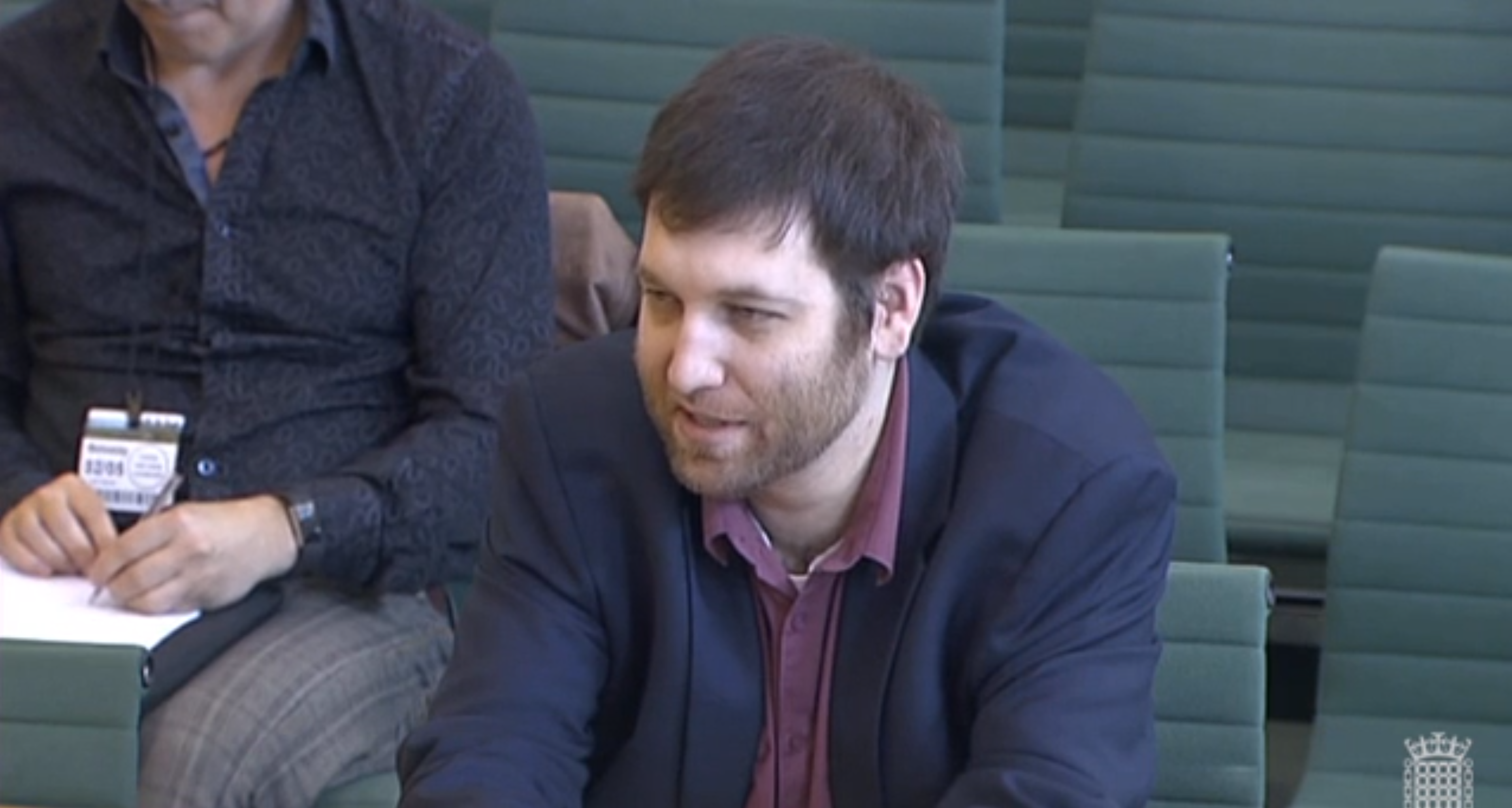 Chris Vickery gives evidence to the DCMs committee about Facebook,m Brexit, Aggregate IQ and Cambridge Analytica