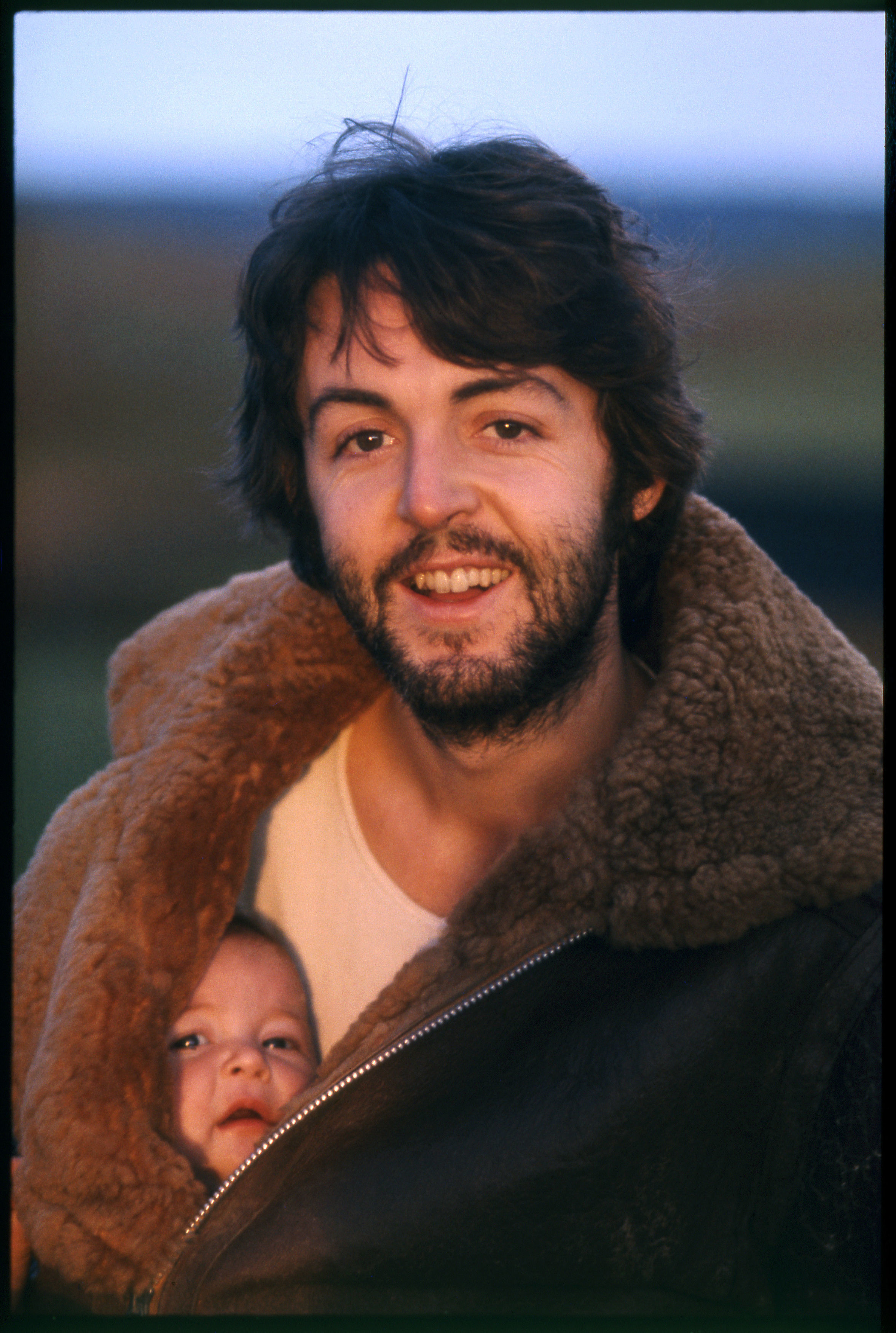 Sir Paul McCartney and daughter Mary (Linda McCartney/Press Association Images)