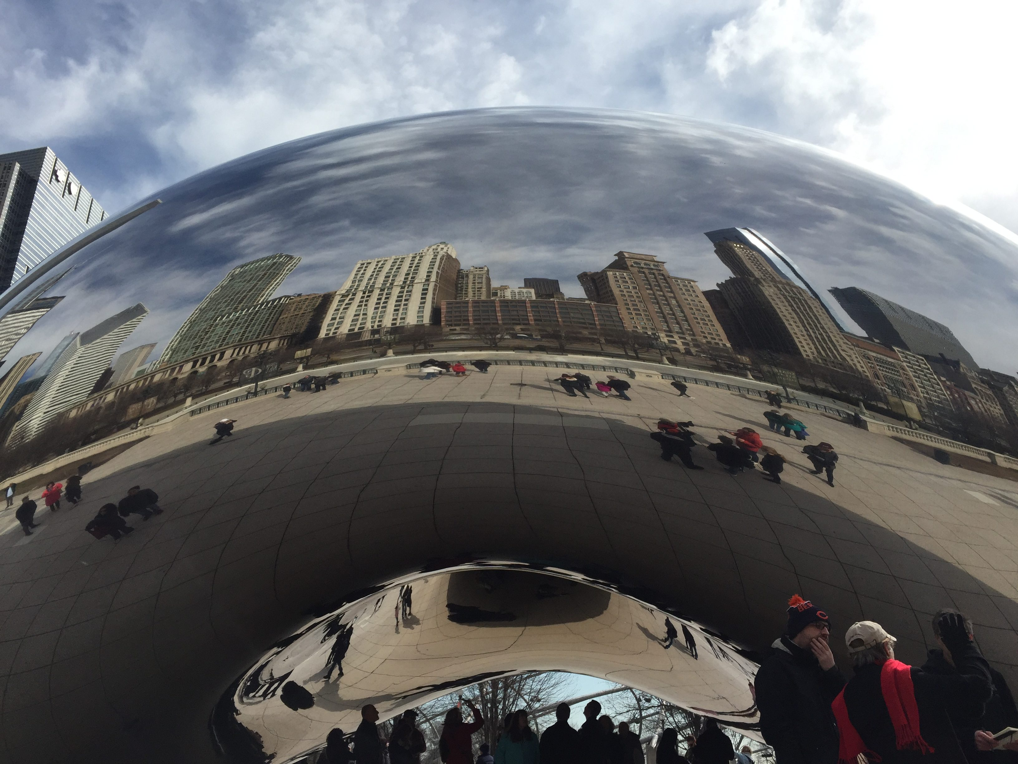 The Cloud Gate - or Bean (Choose Chicago/PA)