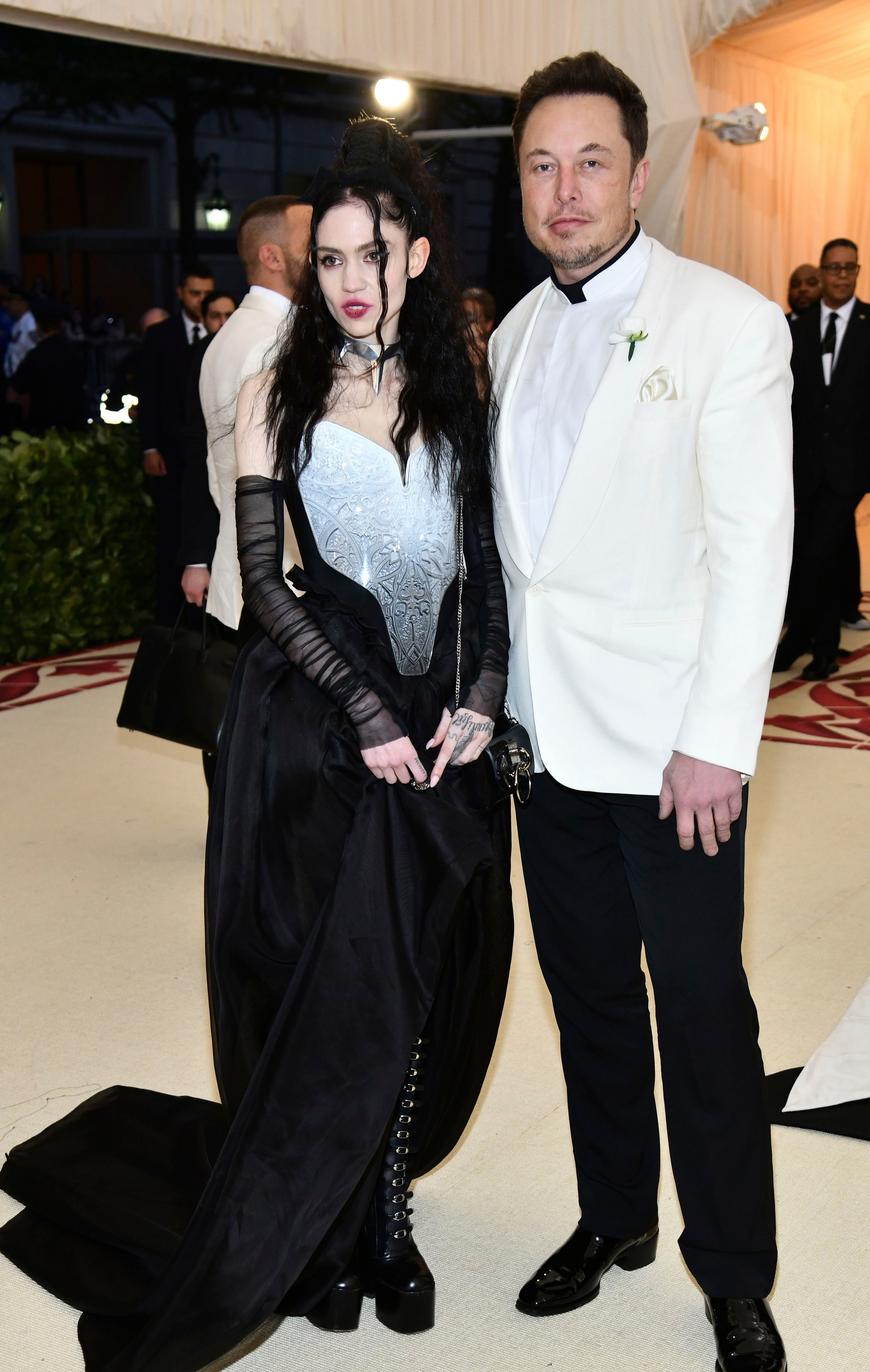 Grimes and Elon Musk at the Met Gala (Charles Sykes/Invision/AP/REX/Shutterstock)