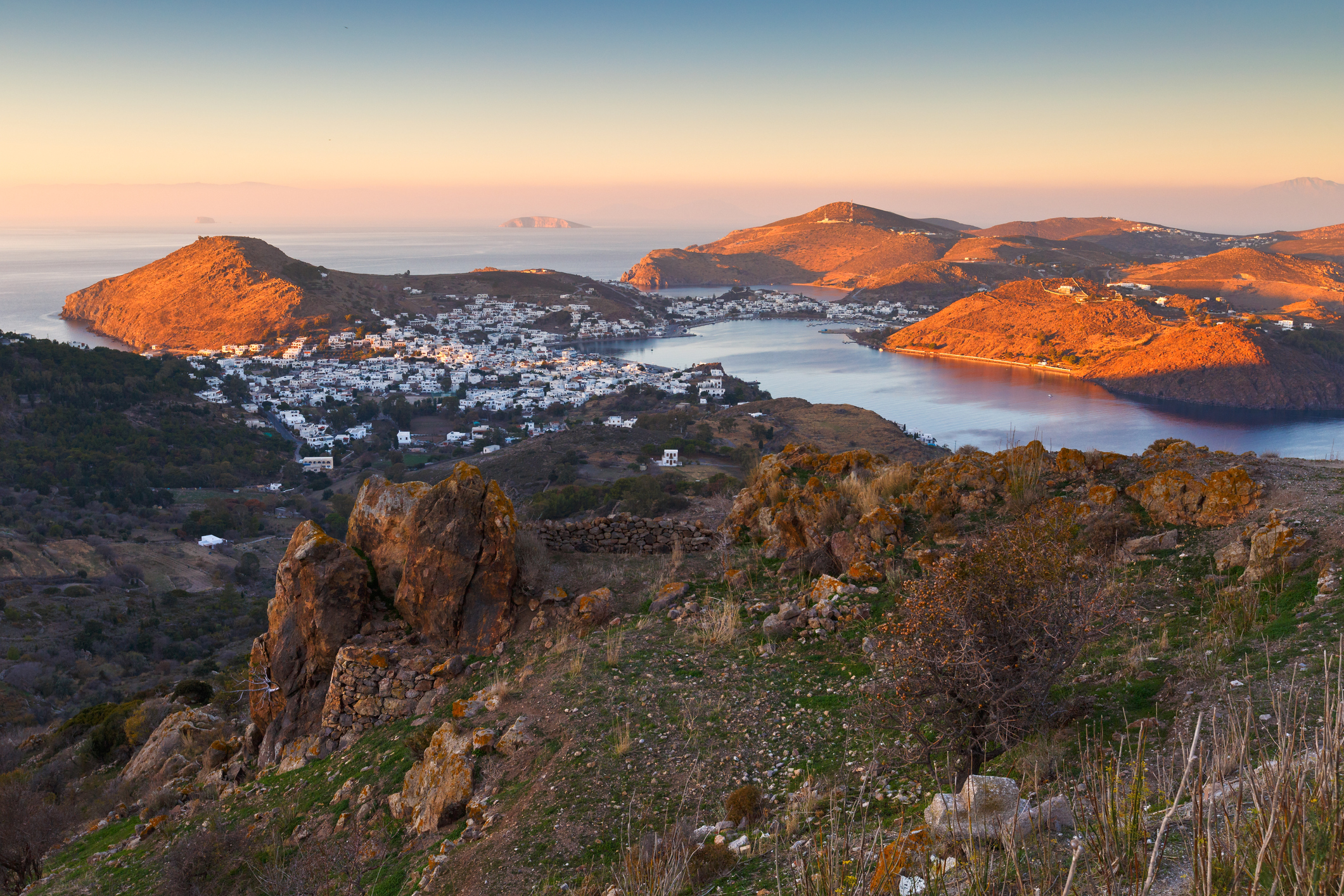 Patmos island in Dodecanse archipelago in eastern Aegean (Thinkstock/PA)