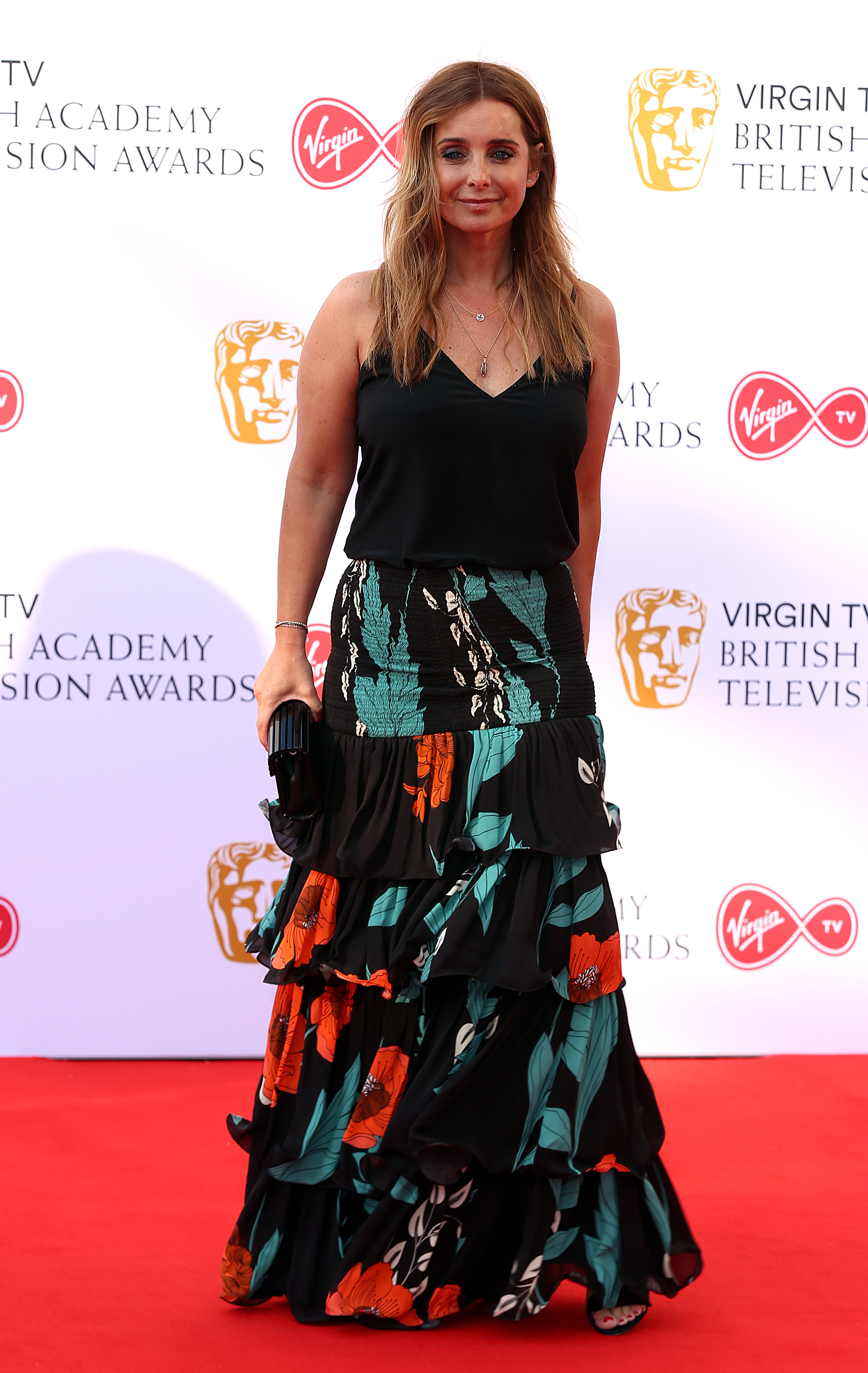 Louise Redknapp attending the Virgin TV British Academy Television Awards 2018 held at the Royal Festival Hall, Southbank Centre, London.