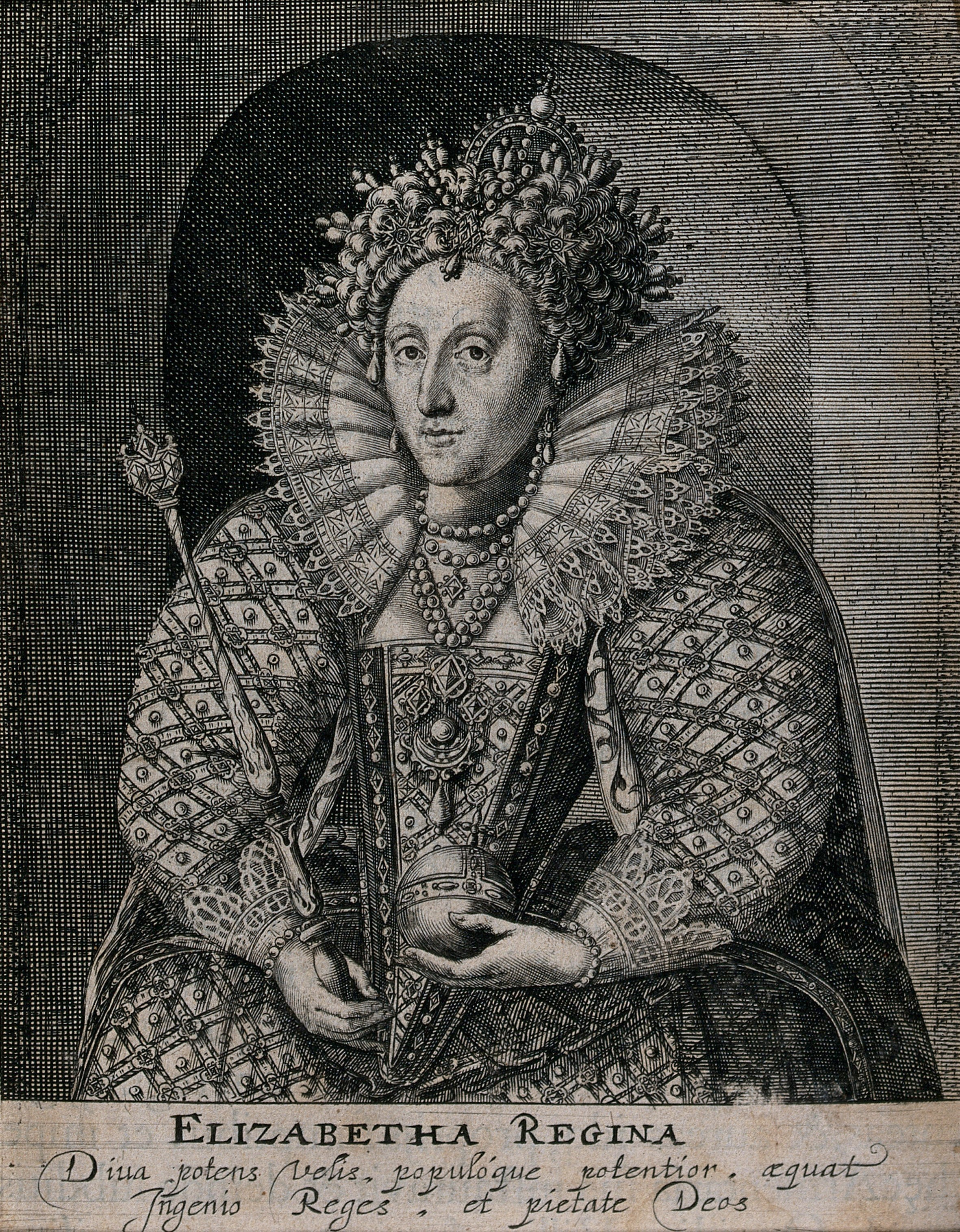 Elizabeth I, whose teeth were said to be black (Wellcome Collection)