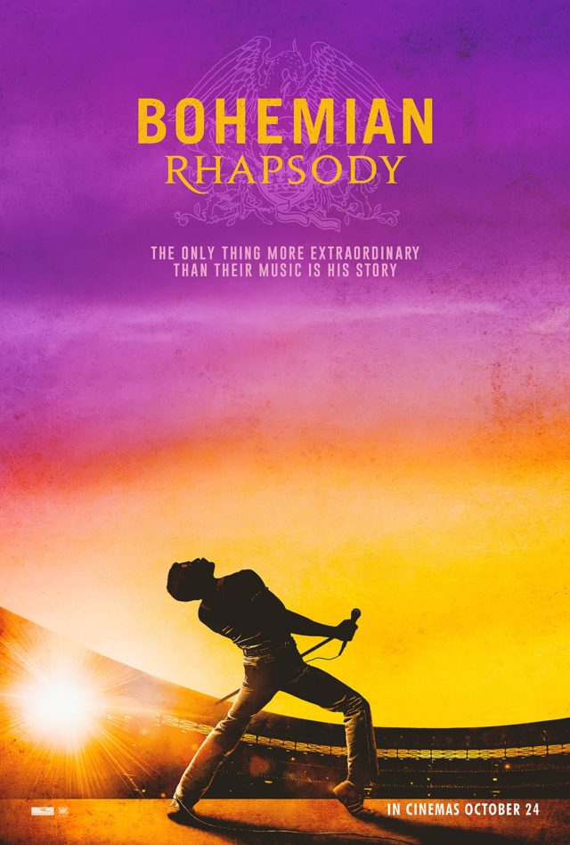 The official poster for Freddie Mercury biopic Bohemian Rhapsody. (