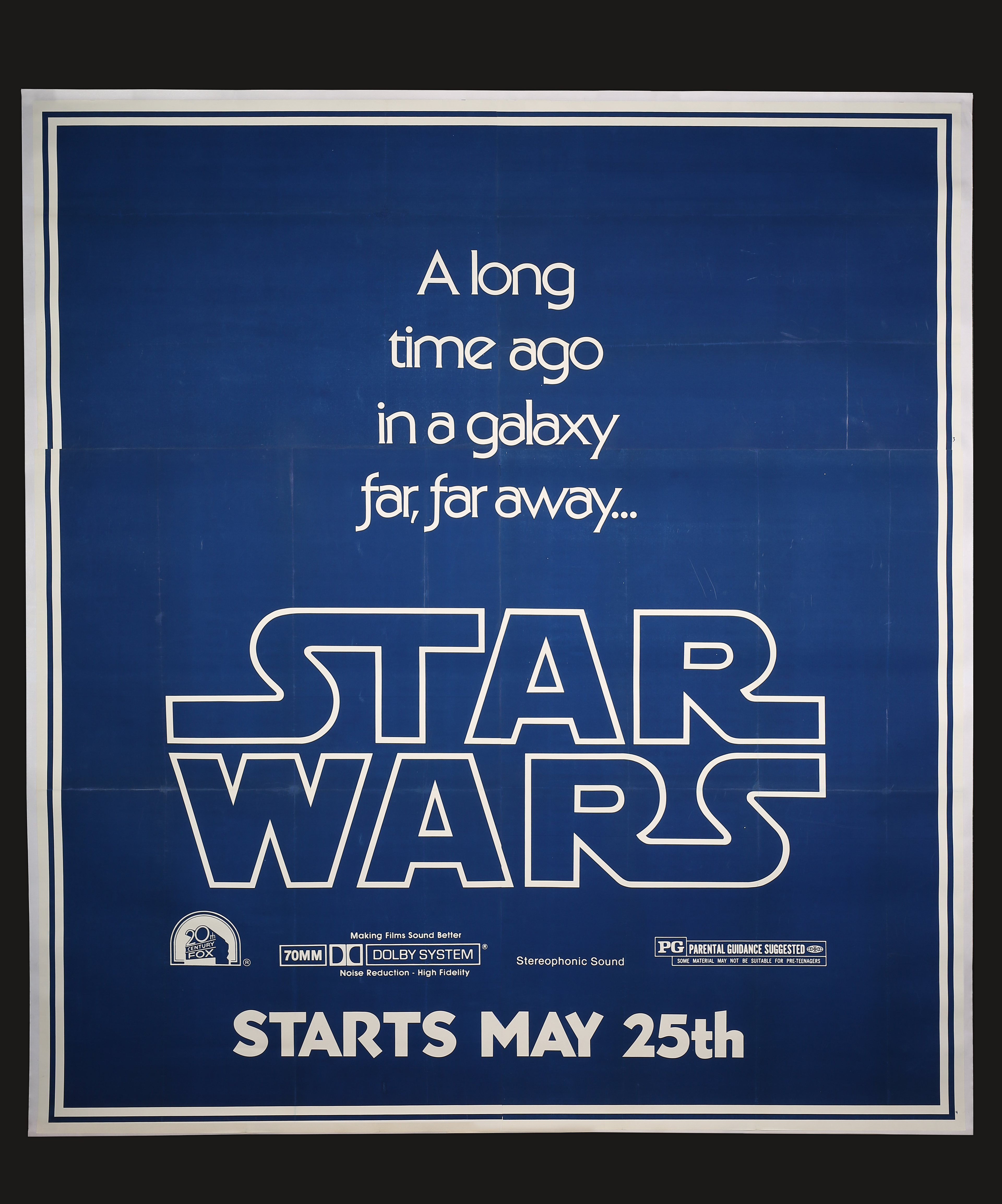 The Star Wars US Teaser B 7 Sheet Poster Prop Store