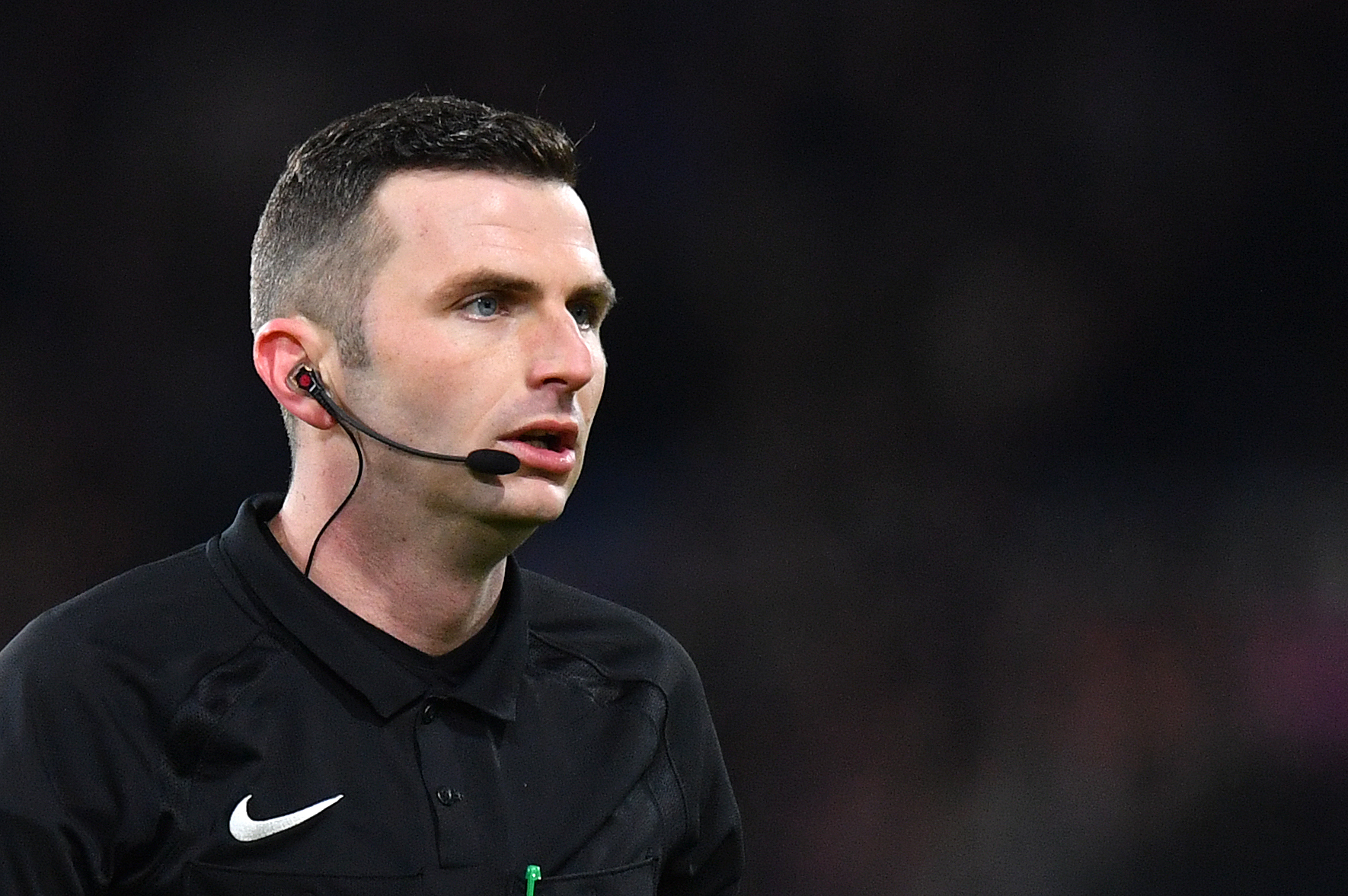 Football referee Michael Oliver