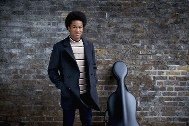 Sheku Kanneh-Mason brought the ceremony to a close as he played Ave Maria (Lars Borges/PA)