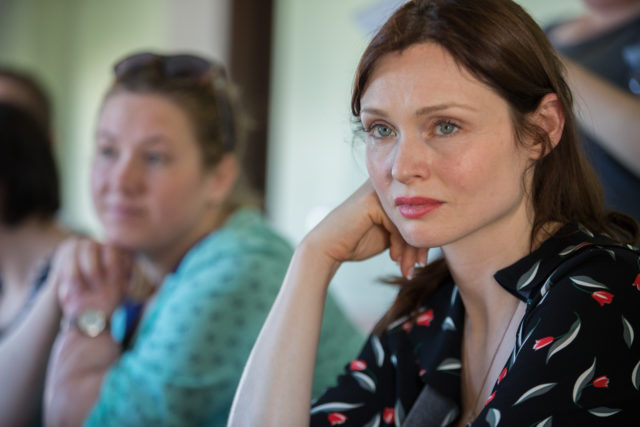 Sophie Ellis-Bextor is an Ambassador for children's charities Lumos.