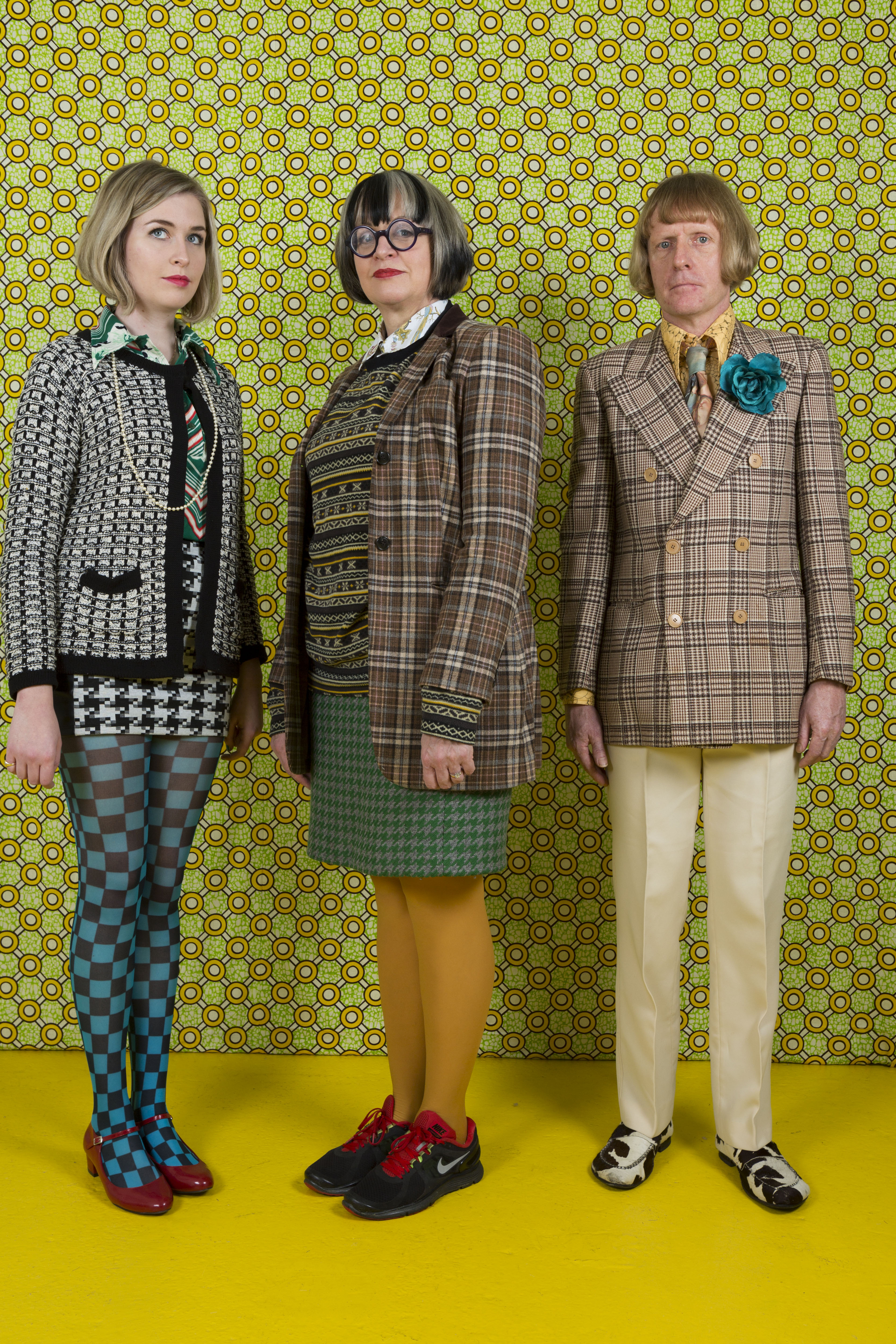 Grayson Perry with his wife Philippa and daughter Florence (Martin Parr/Magnum Photos/Rocket Gallery)