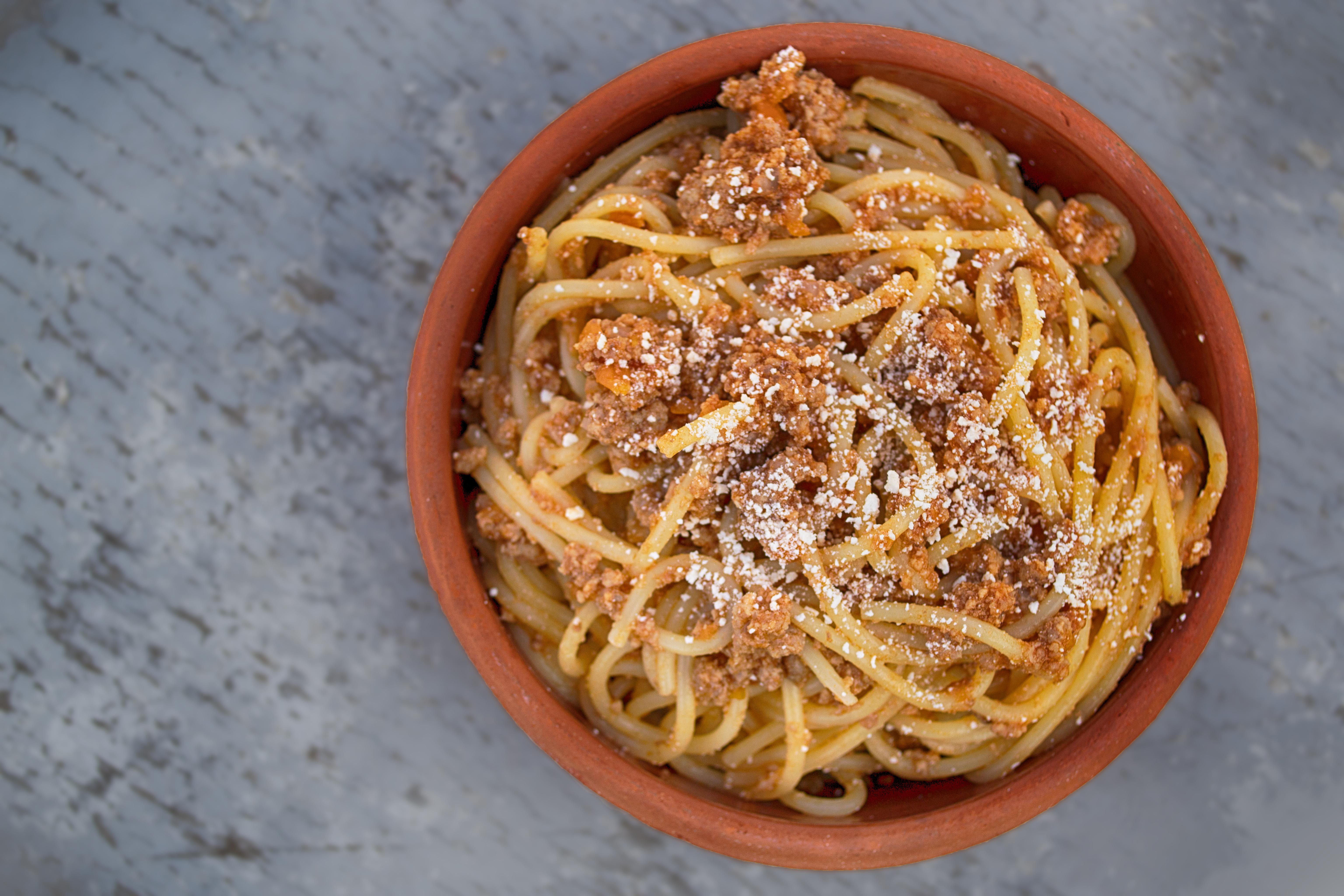 Spaghetti bolognese (PA)