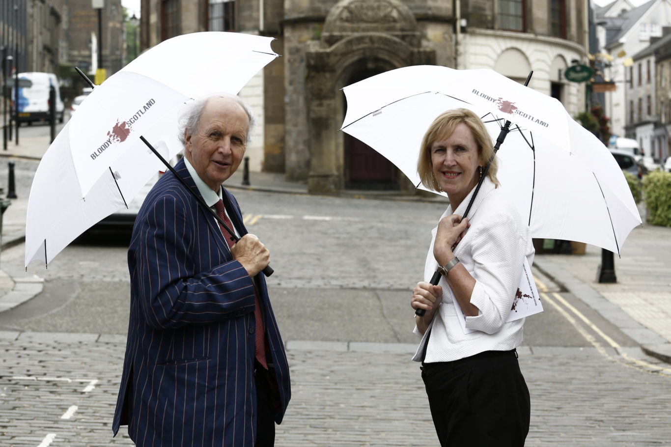 Alexander McCall Smith (left) helped to launch the programme (Paul Reich/PA)