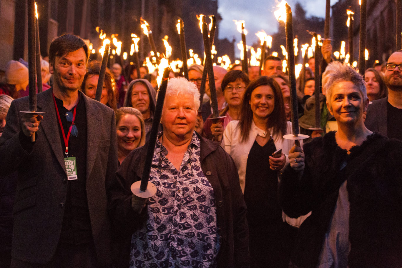 A torchlight procession will take place again this year (Paul Reich/PA)