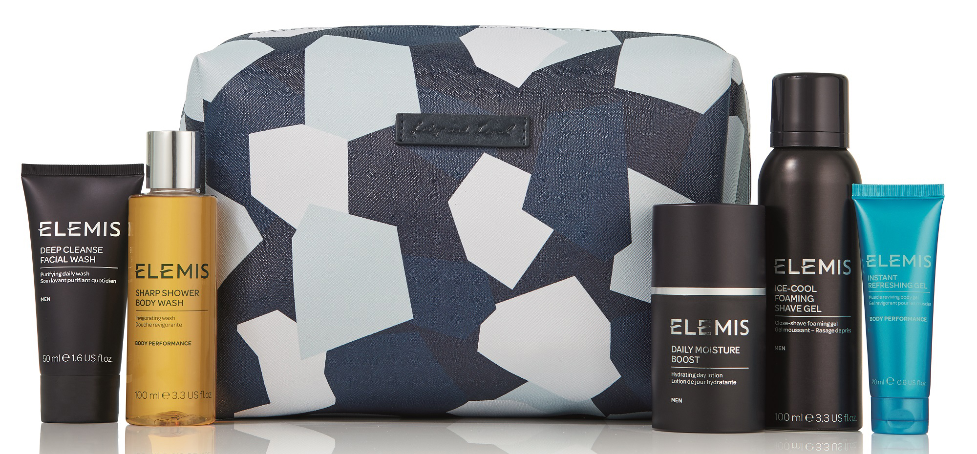 Elemis Lily and Lionel Luxury Travel Collection for Him