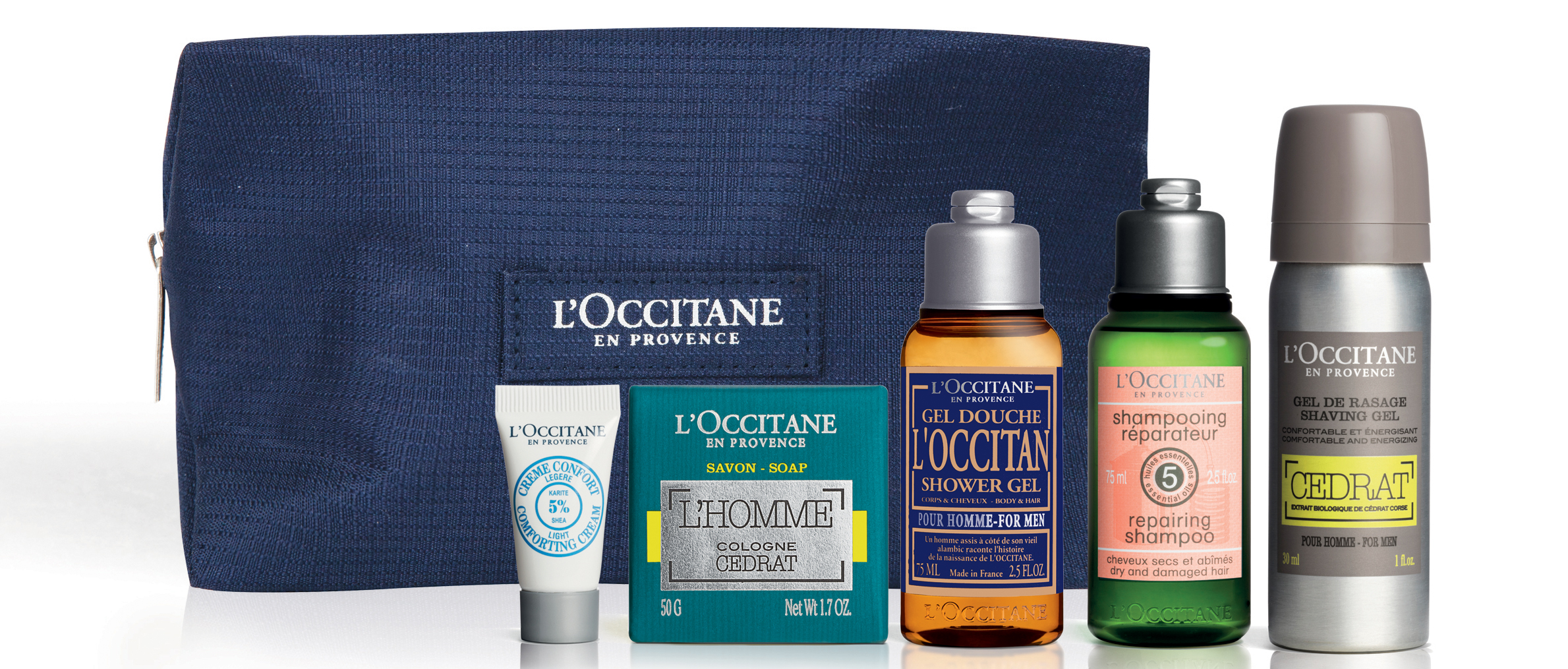 L'Occitane Grooming Routine on the Go