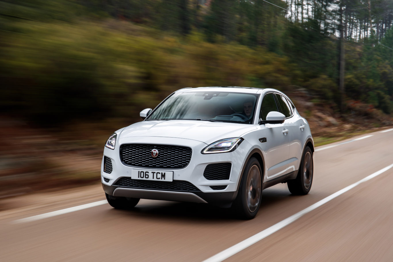 The E-Pace is the smallest SUV in Jaguar's current range
