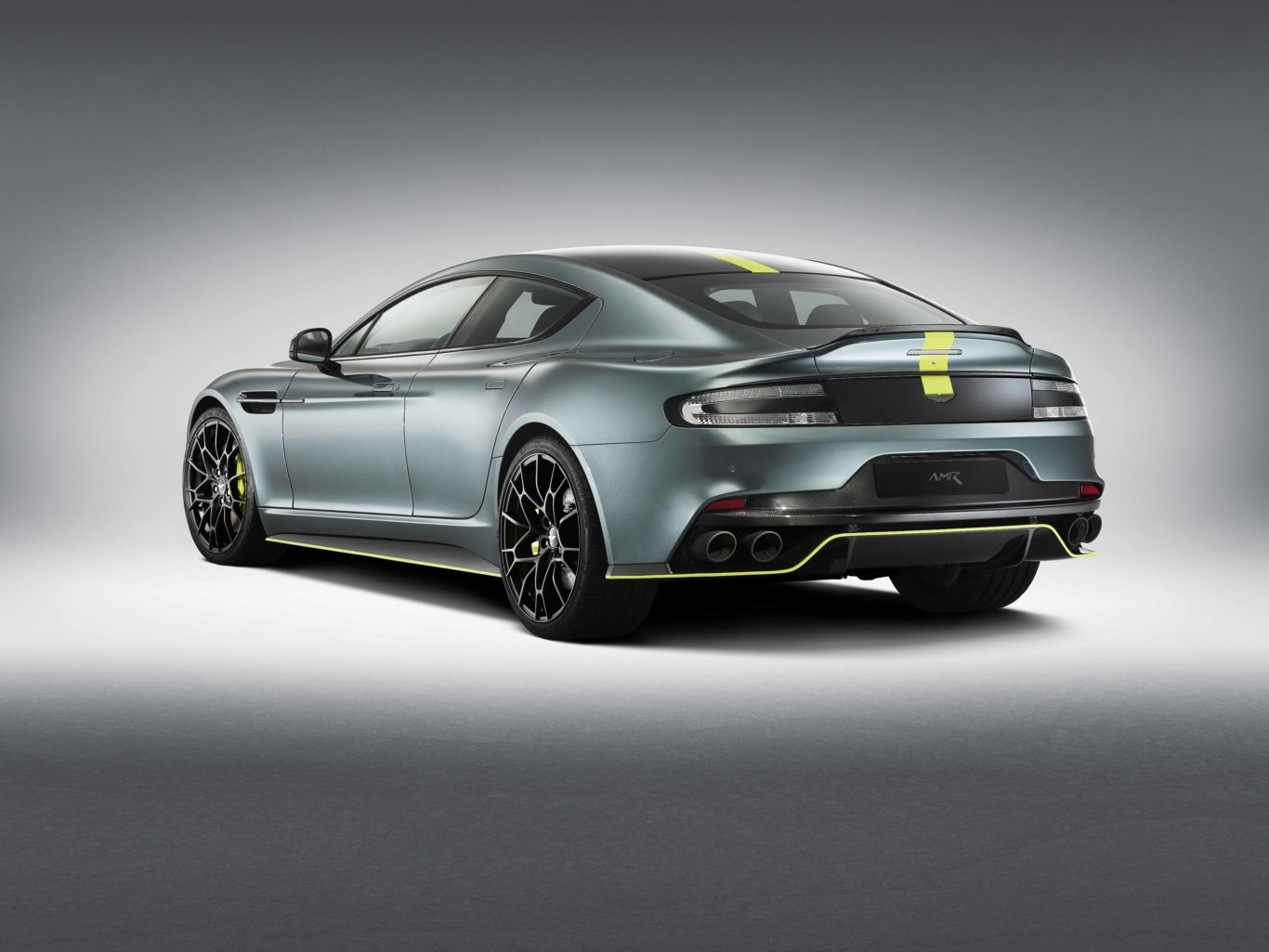 The Rapide AMR features an all-new exhaust system