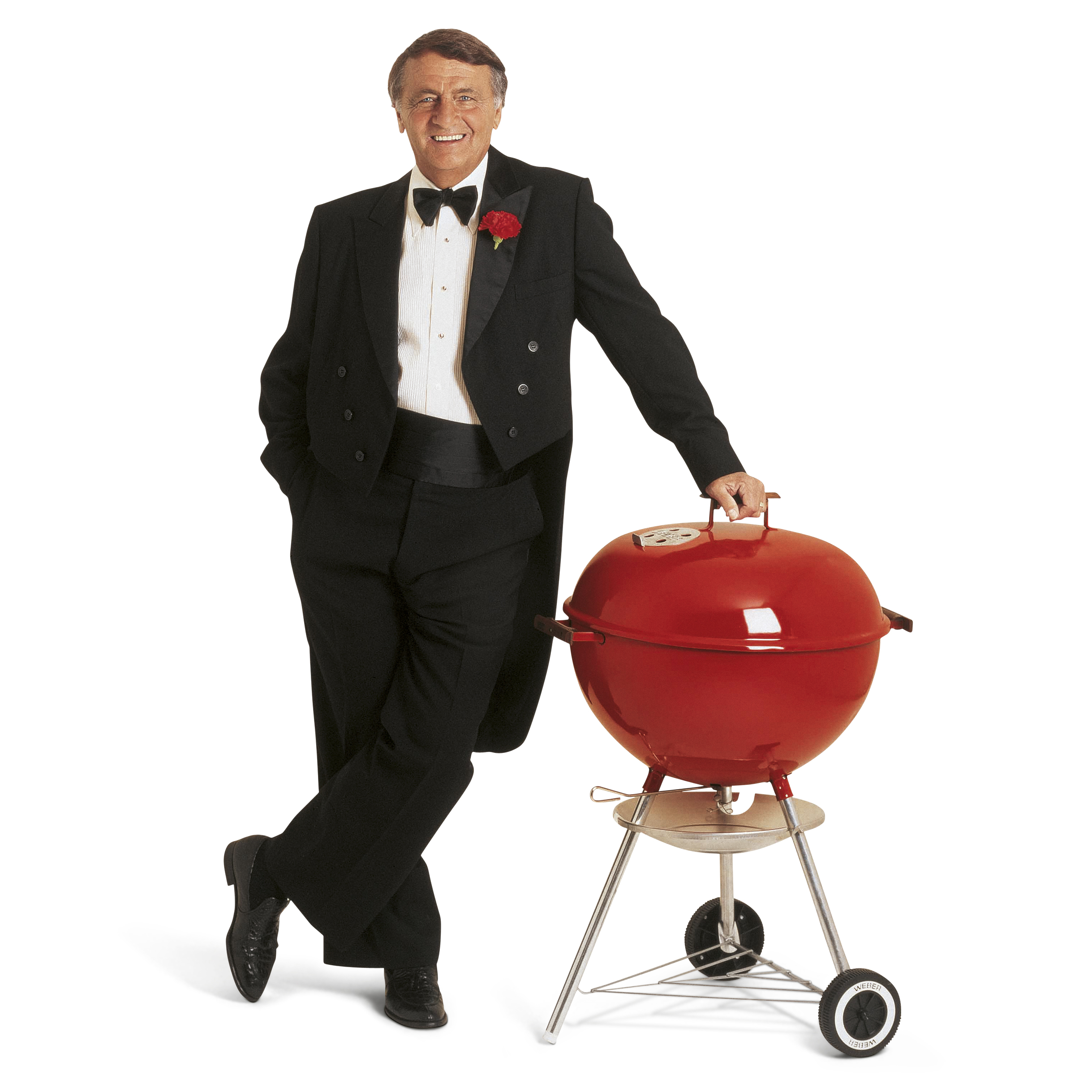 George Stephen, pioneer of the kettle barbecue (Weber/PA)