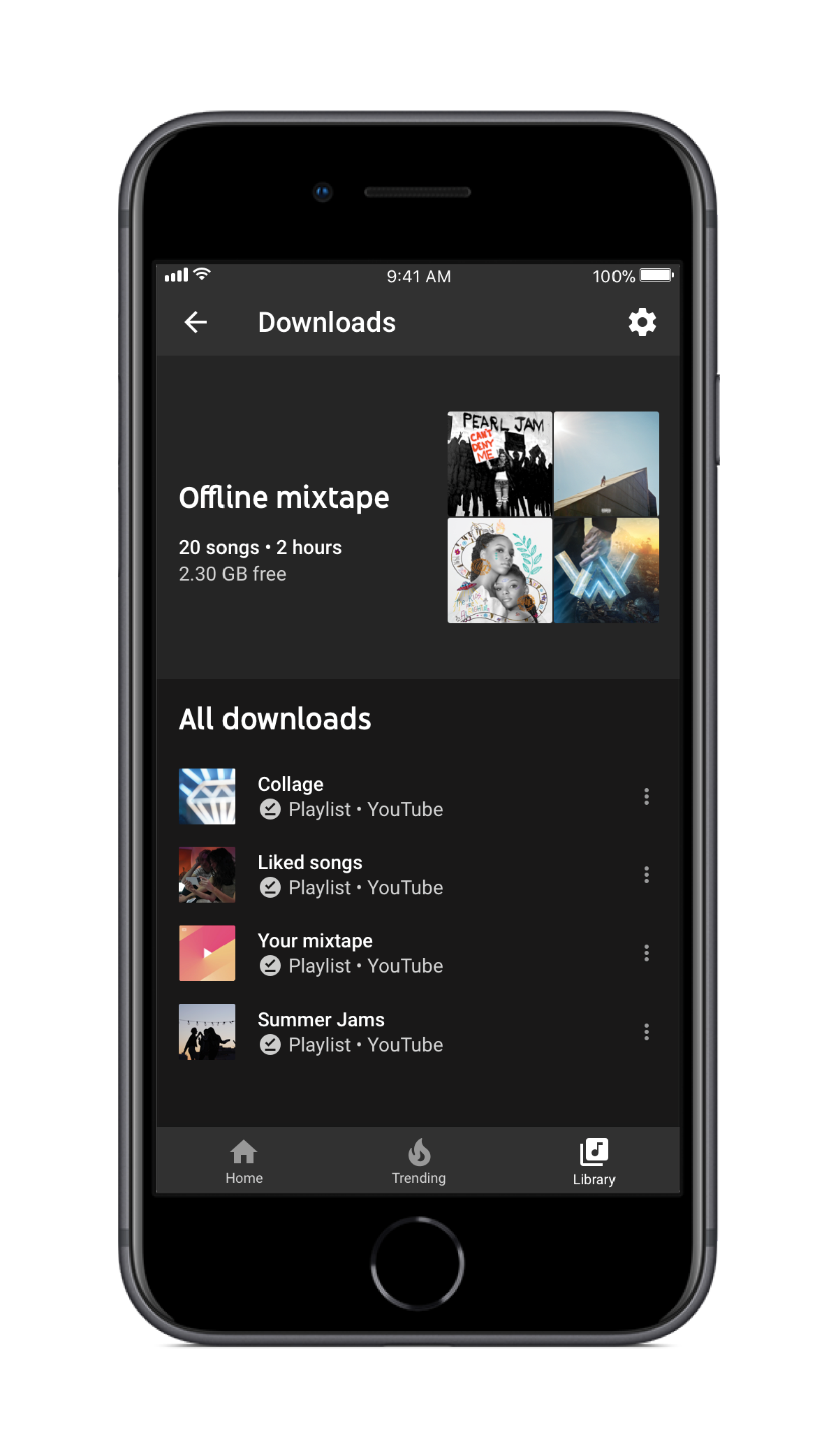 The Youtube Application On Android Supports Playback Of: YouTube Launches Music Streaming Service And YouTube