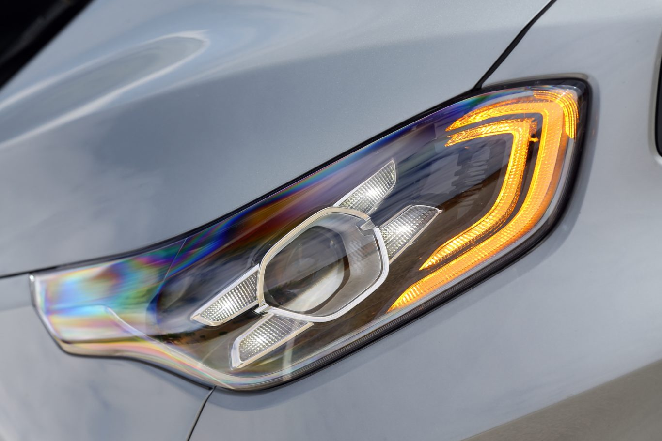 The new Ceed benefits from LED running lights