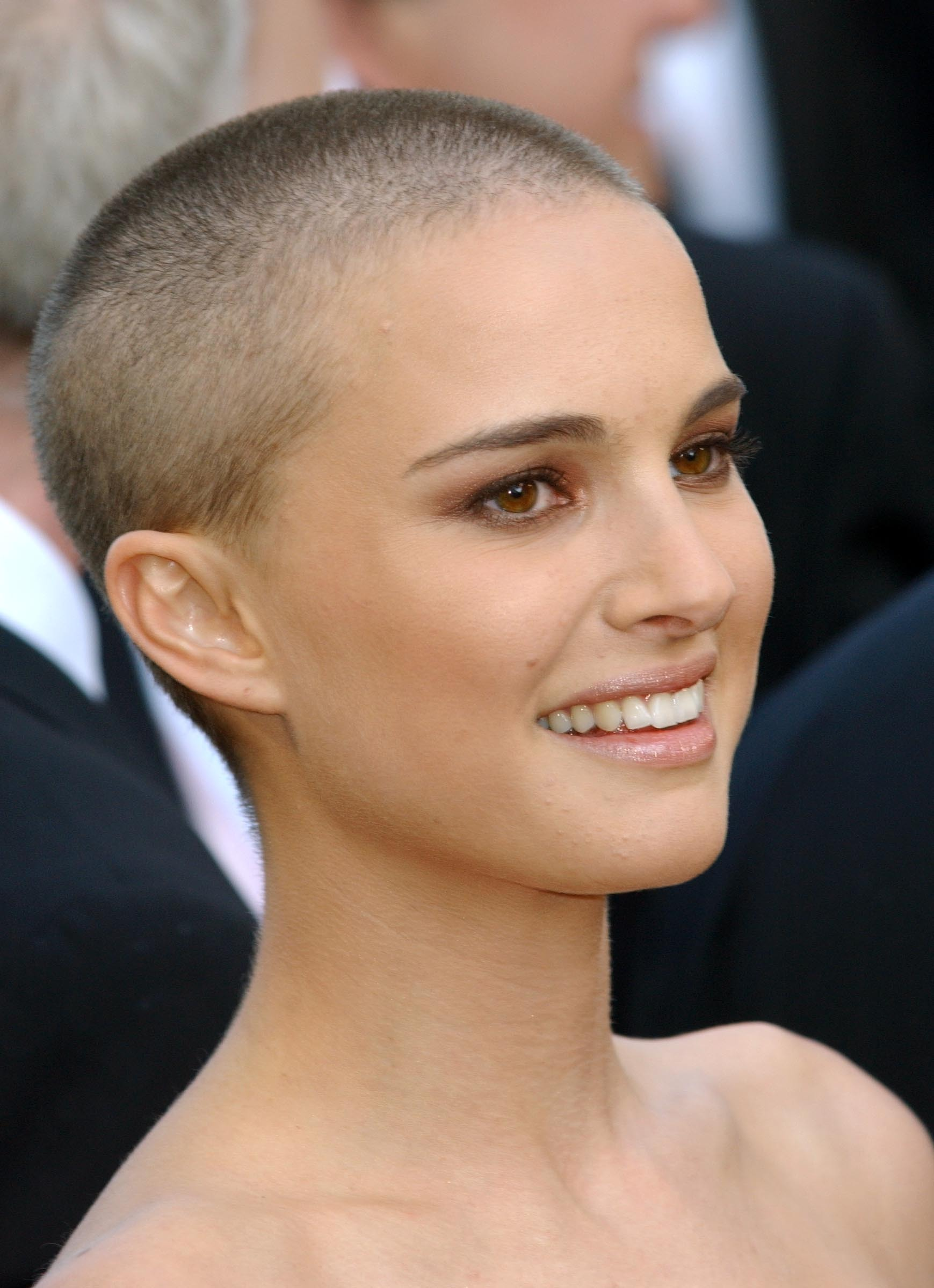 women with shaved heads