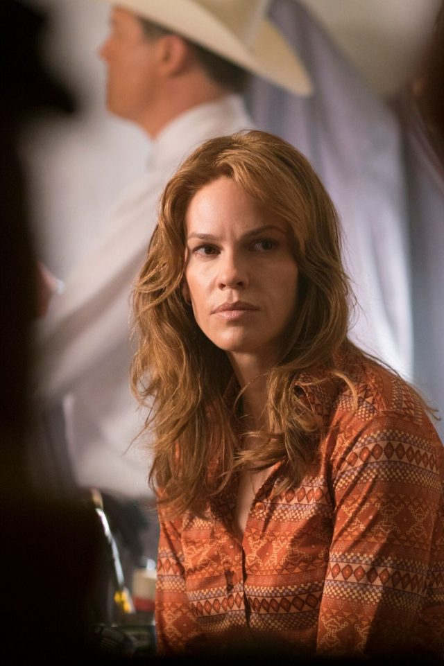 Academy Award winner Hilary Swank