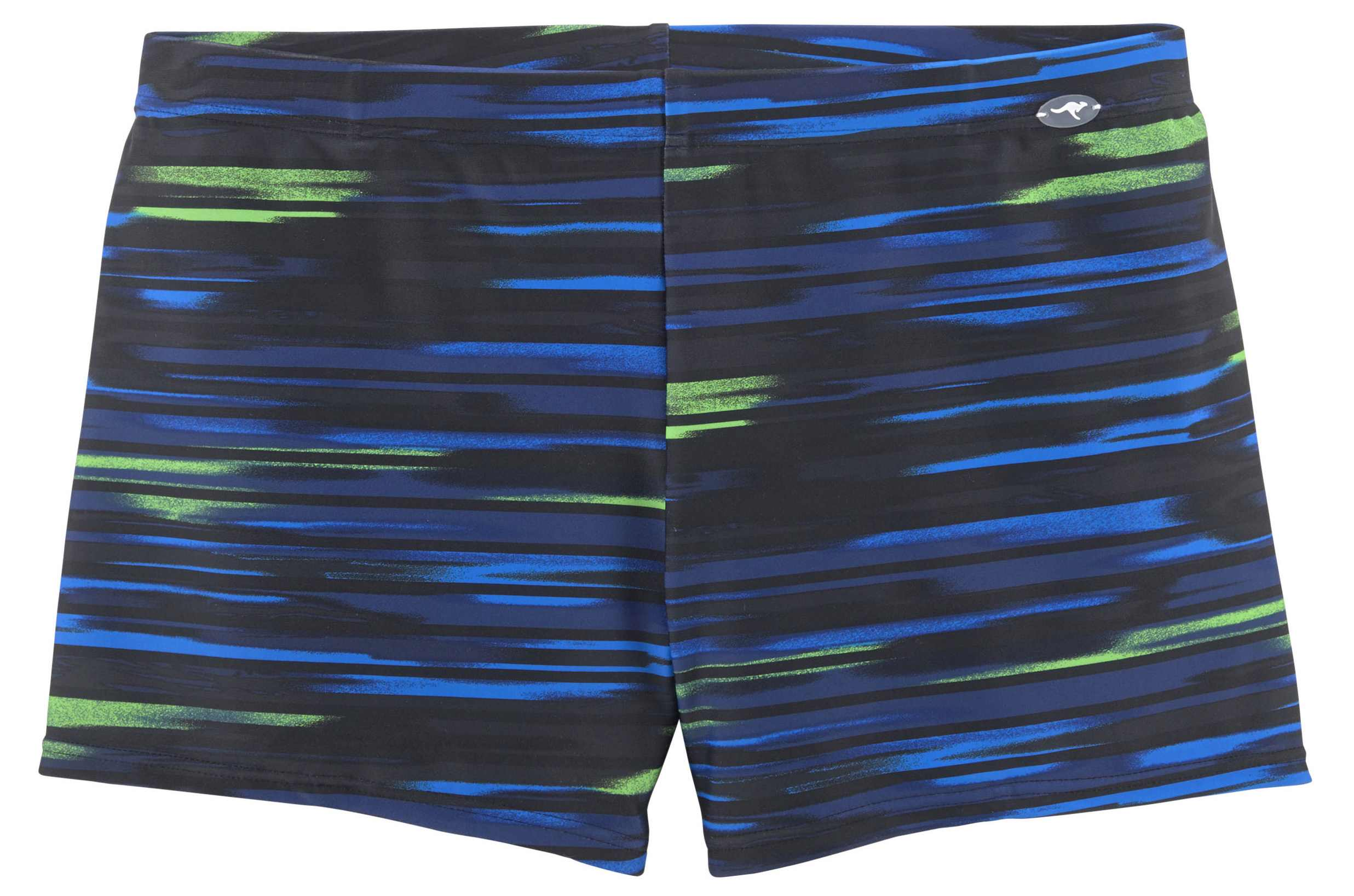 Kangaroos Navy Multi Print Trunks