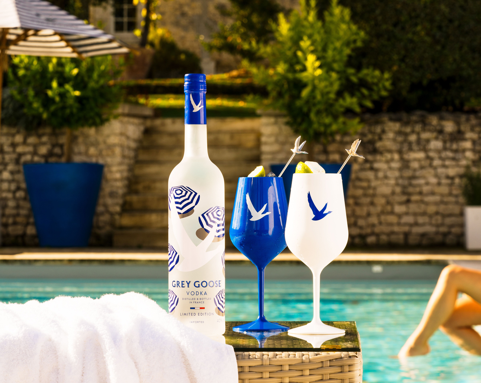 Grey Goose limited edition Quentin Monge Vodka