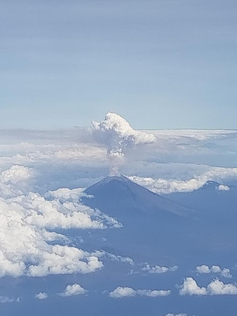 The Volcano from above