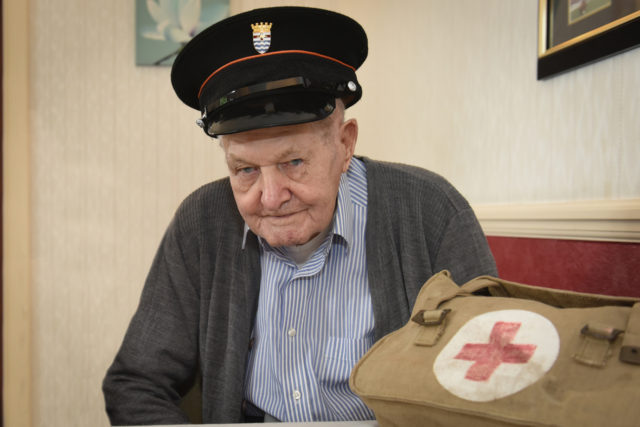 Ron Ellis began working on ambulances as a teenager in the 1930s (London Ambulance Service/PA)