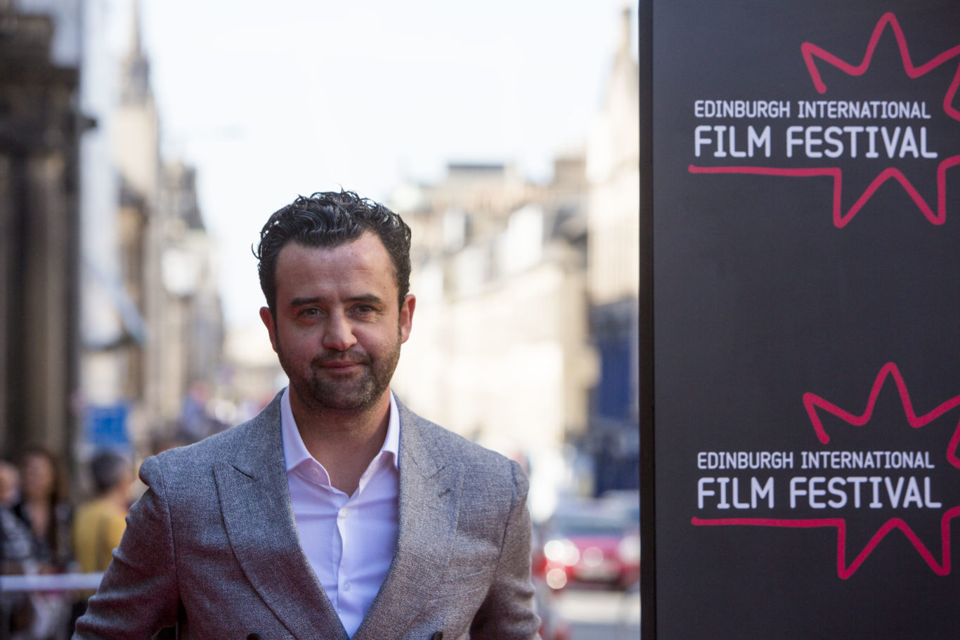 Daniel Mays welcomed the chance to do a comedy role (EIFF/PA)