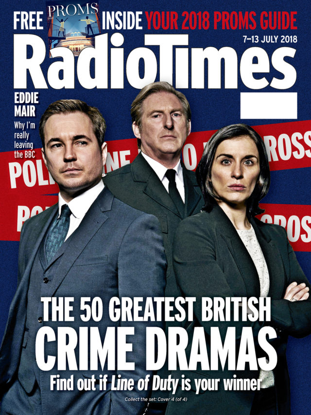 Radio Times reveals readers' favourite UK crime drama TV series