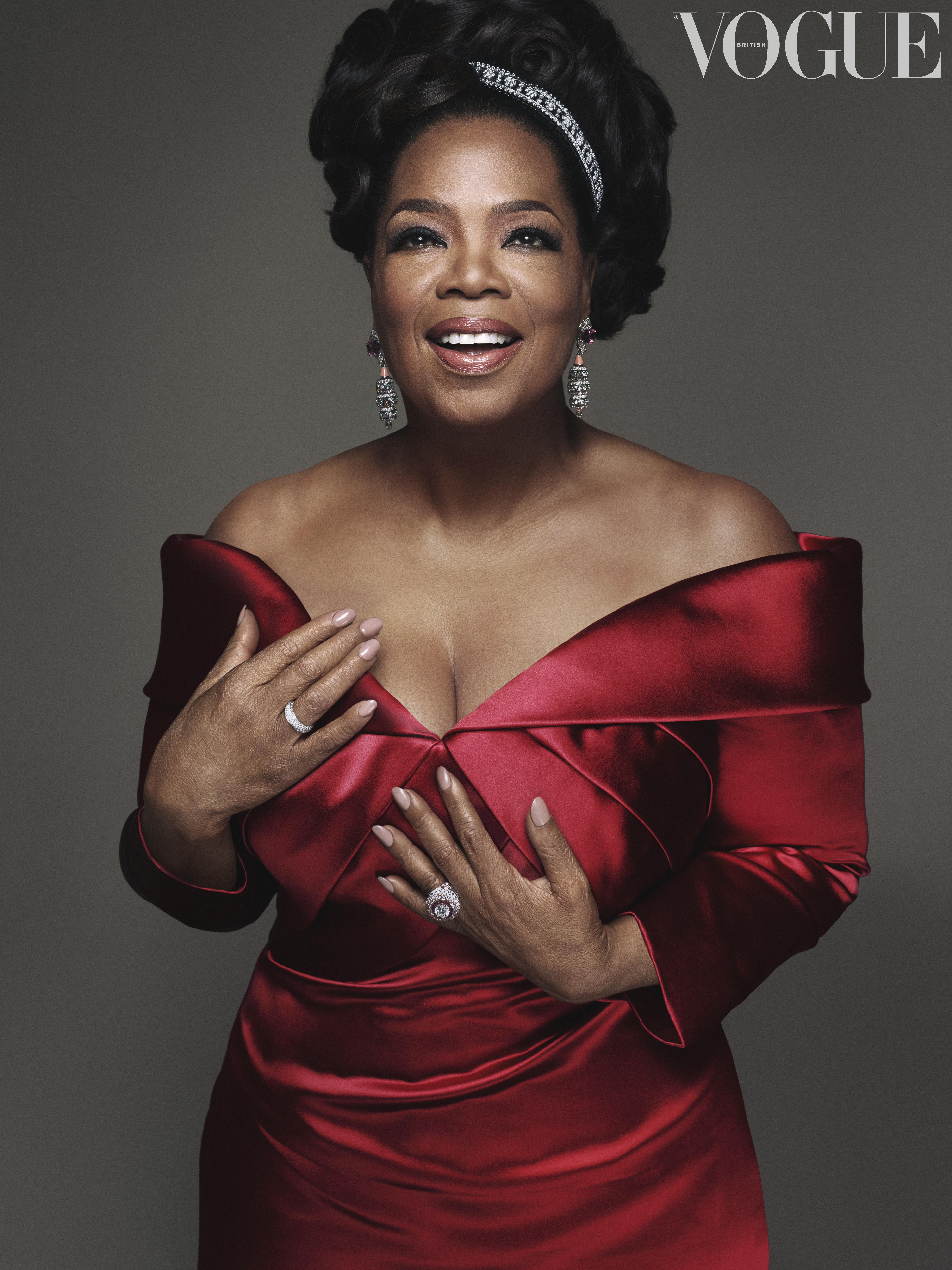 Oprah Winfrey in Vogue