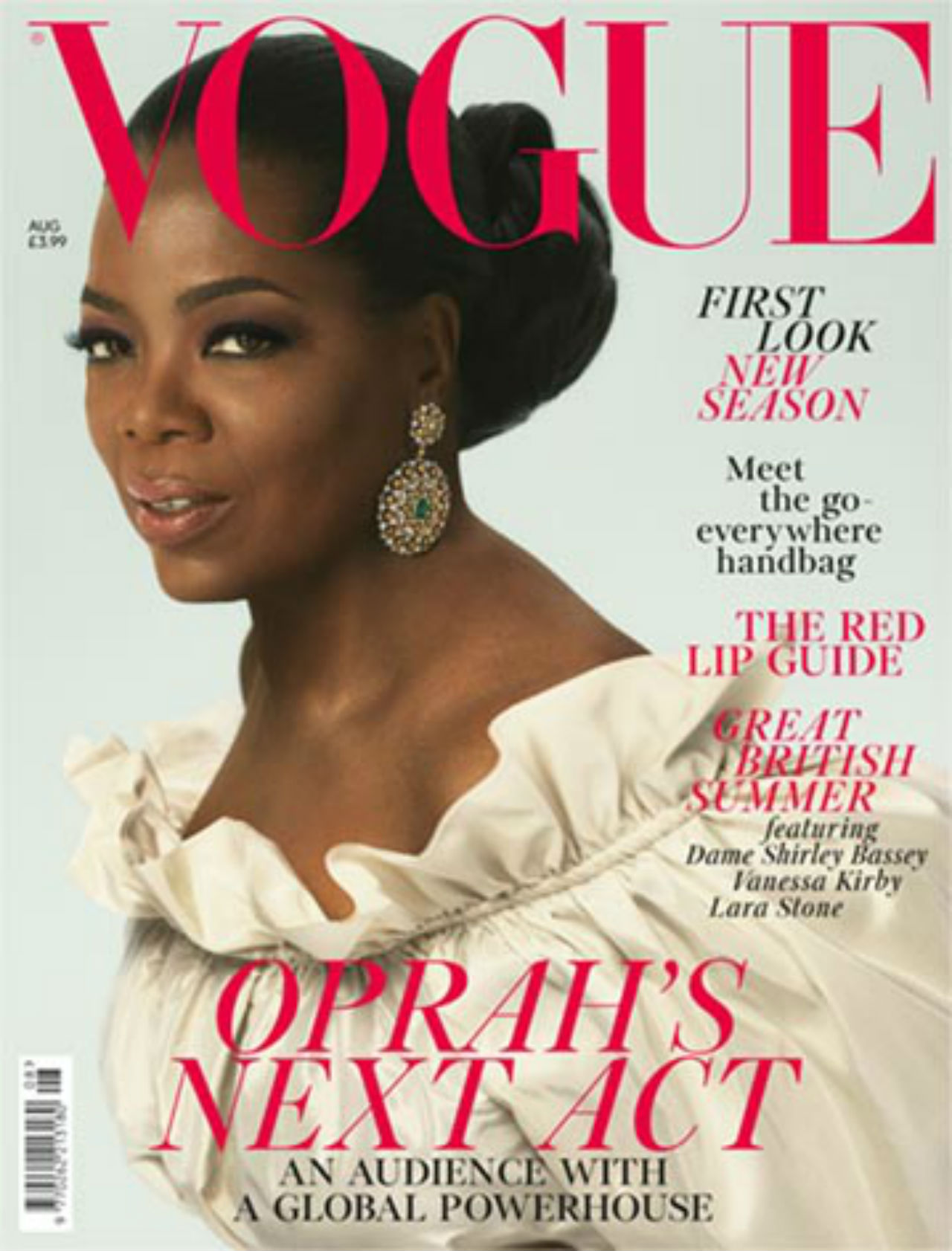 Oprah Winfrey on Vogue cover