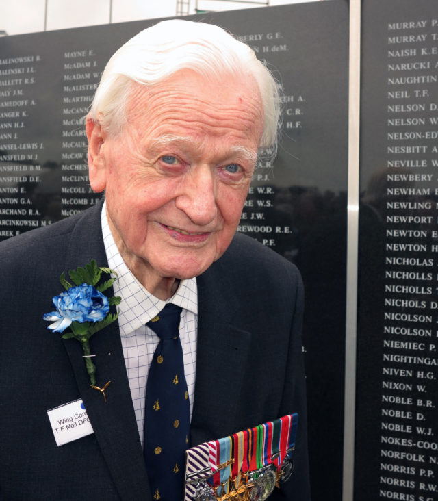 Tom Neil was described by his family as part of a 'generation of heroes'. (Battle of Britain Memorial Trust CIO/ PA)