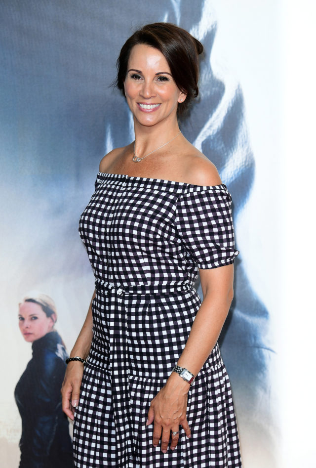 Andrea McLean attending the premiere of Mission: Impossible Fallout in London in July 2018 (Ian West/PA)
