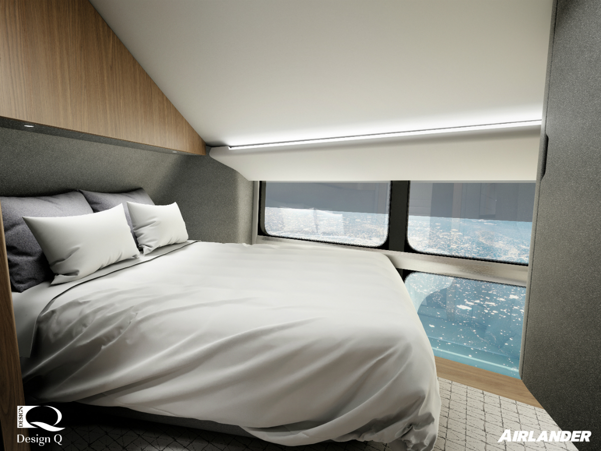 The aircraft will feature en-suite bedrooms (Hybrid Air Vehicles/PA)