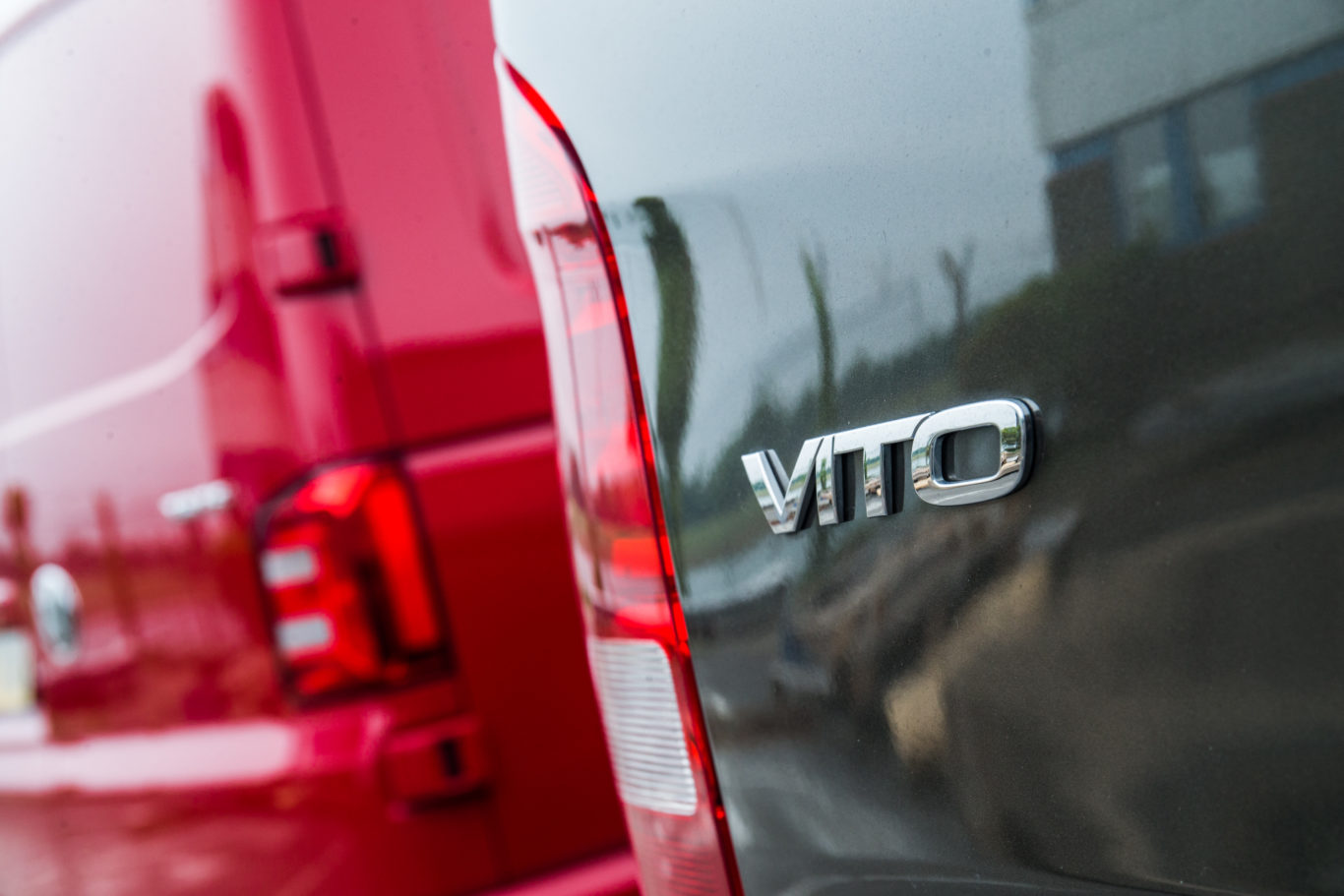 The Vito features the all-important Mercedes badge heritage