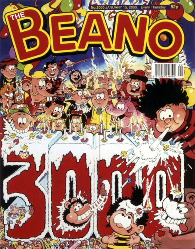 The Beano is still bringing menacing fun to children after