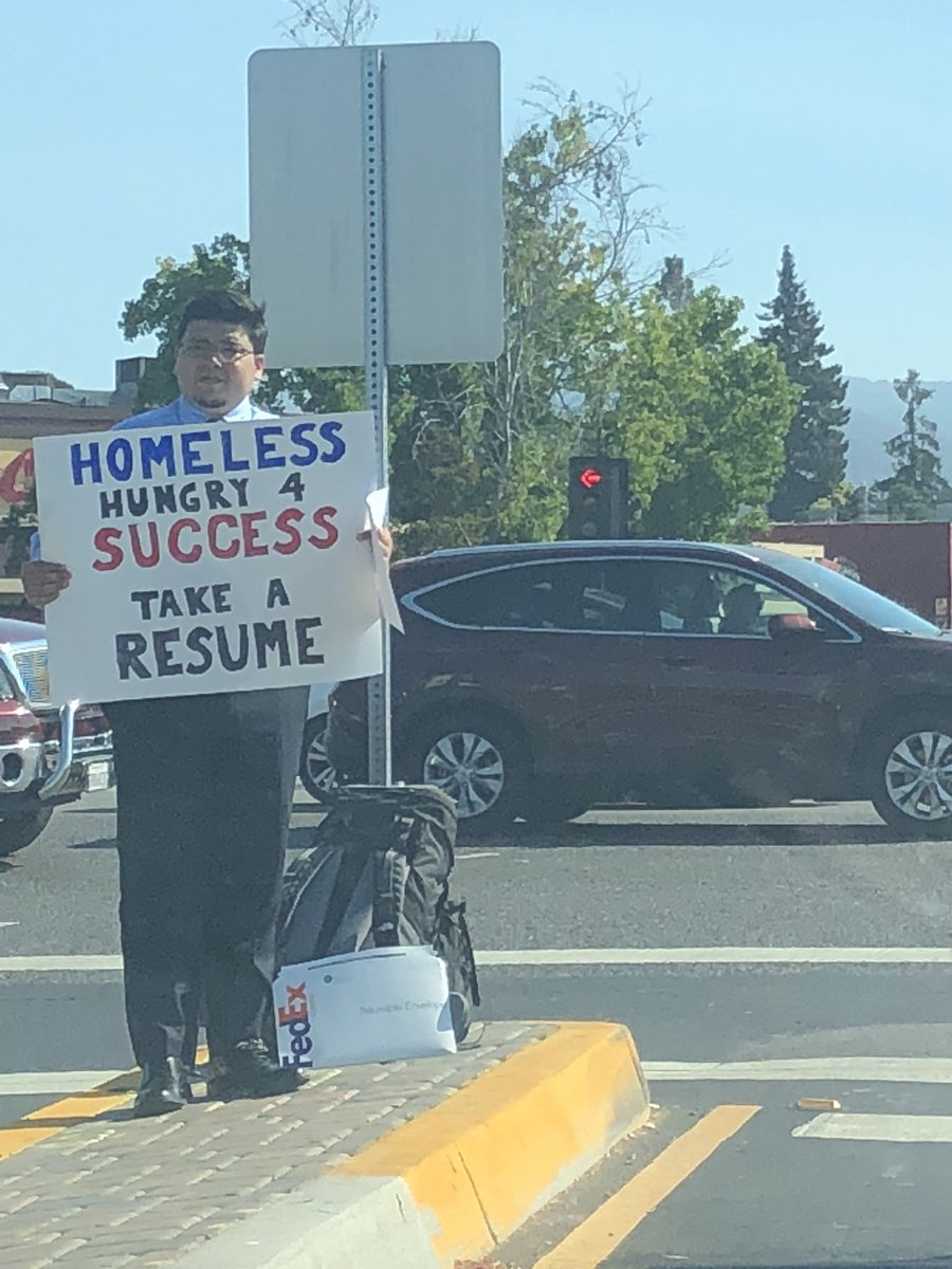 homeless man receives more than 200 job offers after