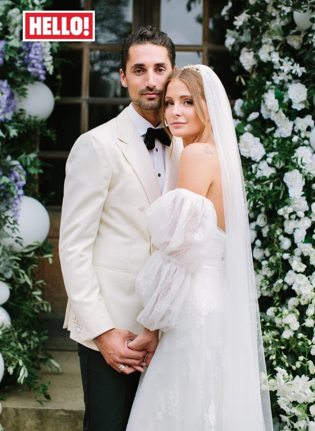 Millie Mackintosh and Hugo Taylor wedding Hello! magazine