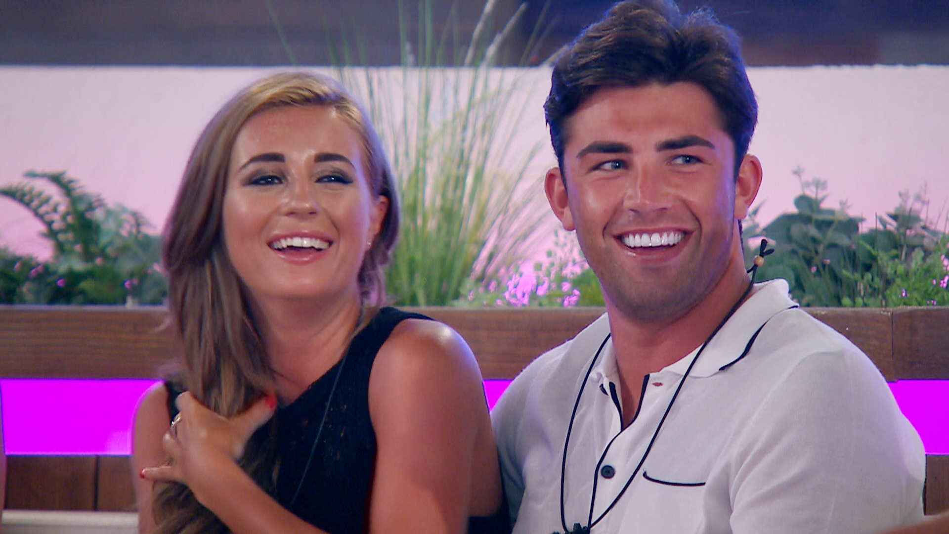 Love Island's Jack Fincham and Dani Dyer (ITV)