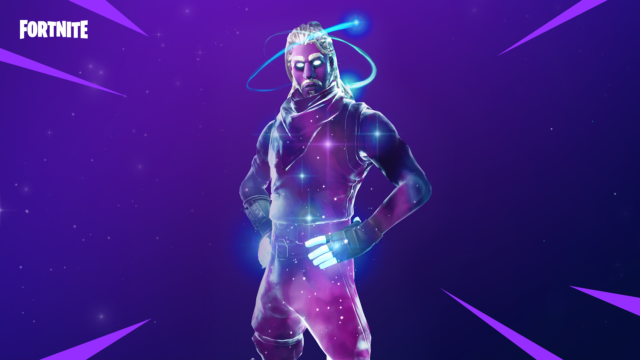 Fortnite's Galaxy outfit
