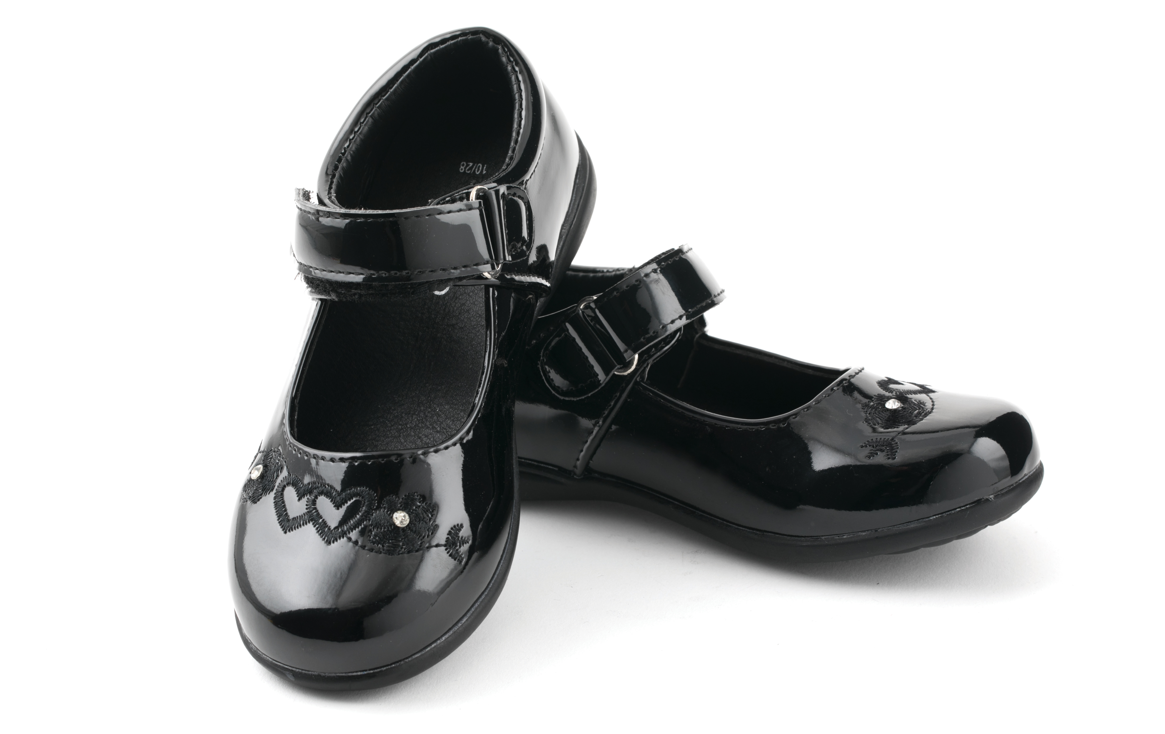 Girls School Shoes, £X, Poundland