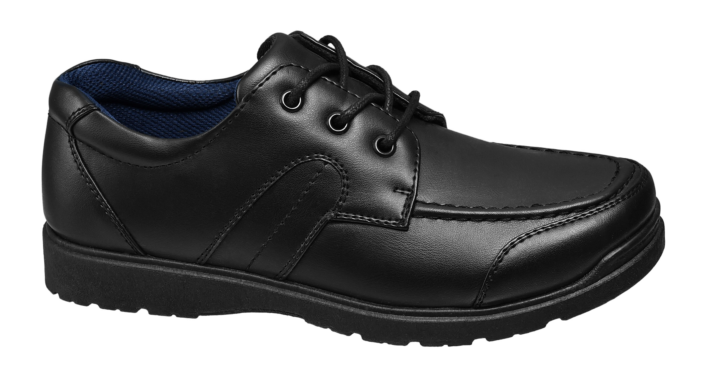 Teen Boy Lace Up School Shoes, £17.99 - buy one get one half price offer available, Deichmann
